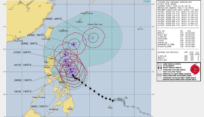 super typhoon Suragae