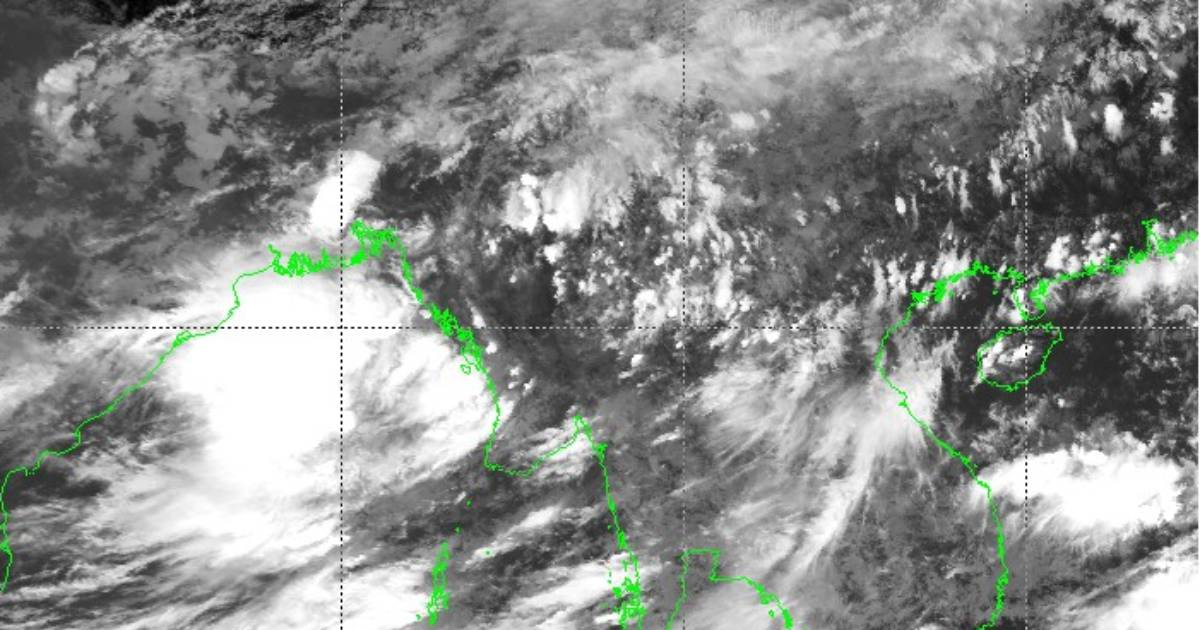 Low Pressure over the Bay of Bengal