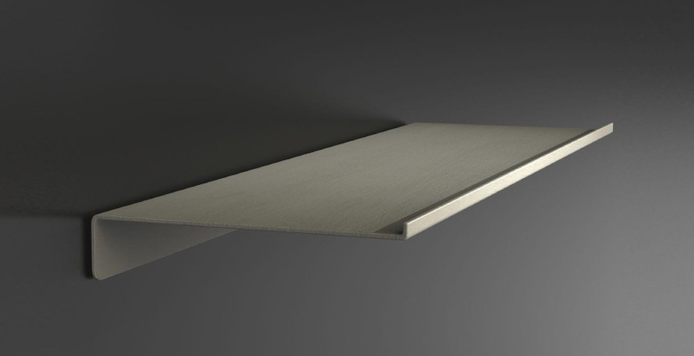 wall mounted stainless steel shelves