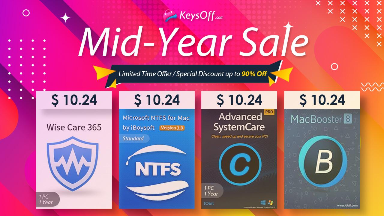 Keysoff Mid-Year Clearance Sale