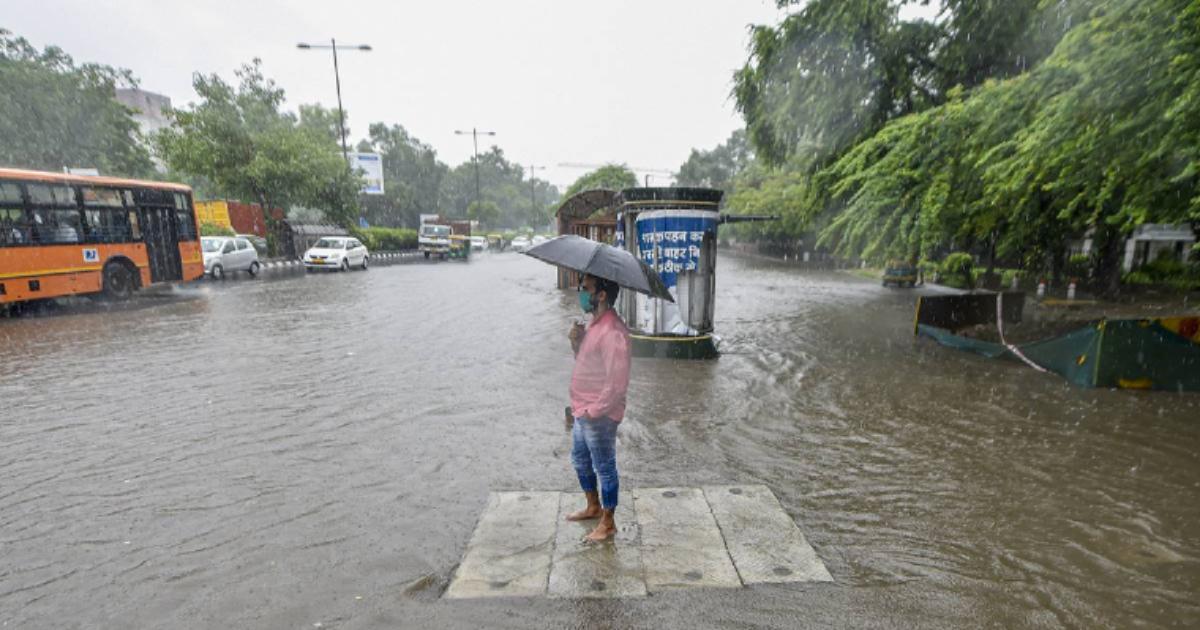 Delhi Rain Facebook