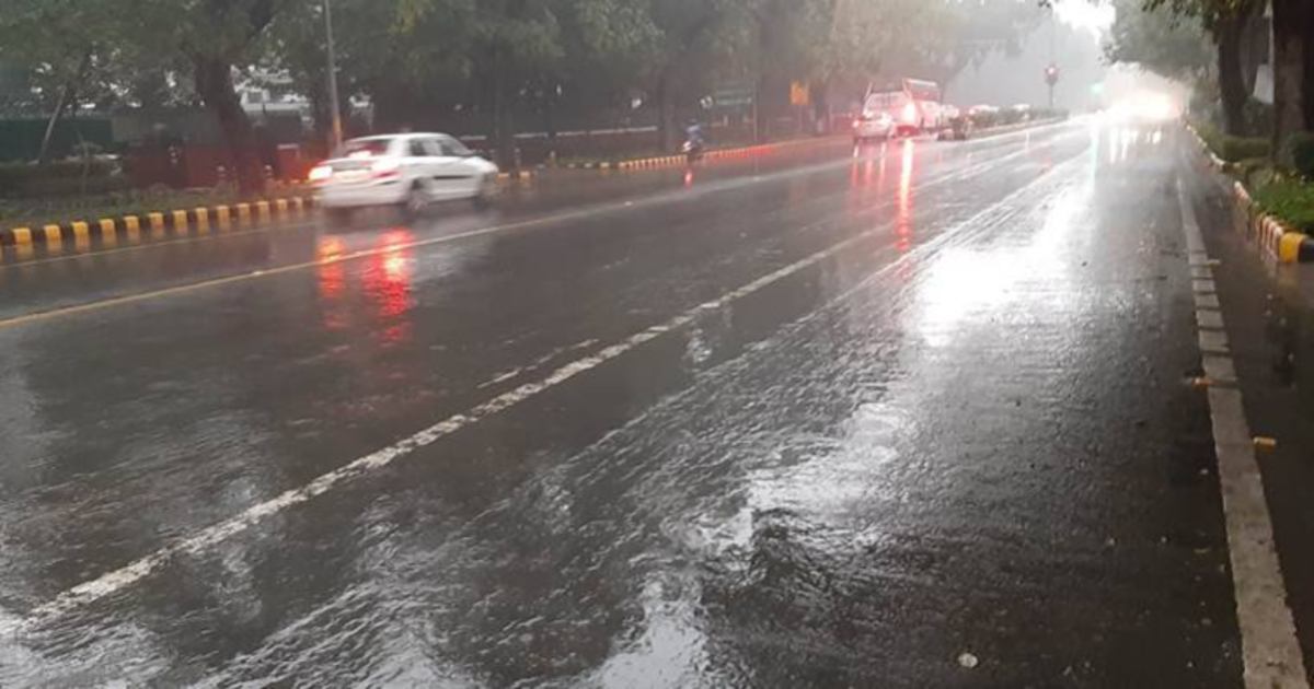Rain in Delhi FB