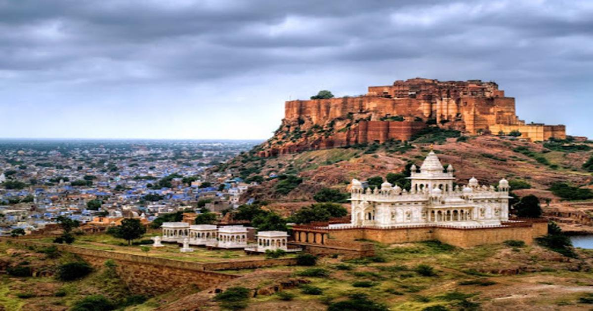 Rain in Rajasthan Gujarat FB