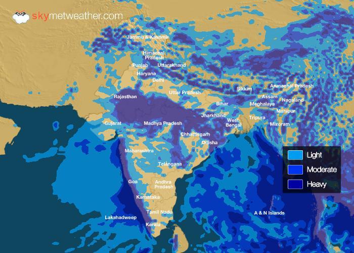 Rainfall Forecast: July 18, 2018