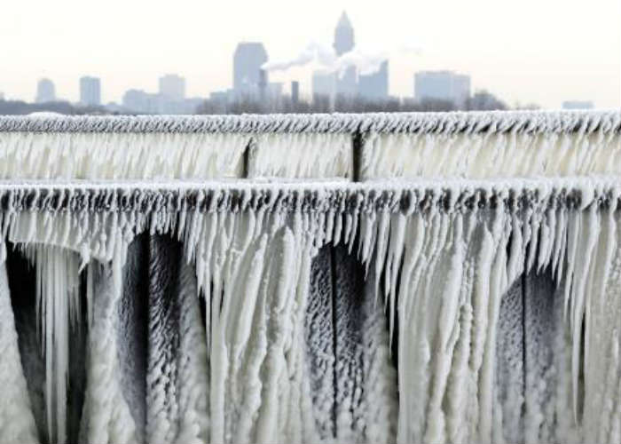 Ice Formation in USA