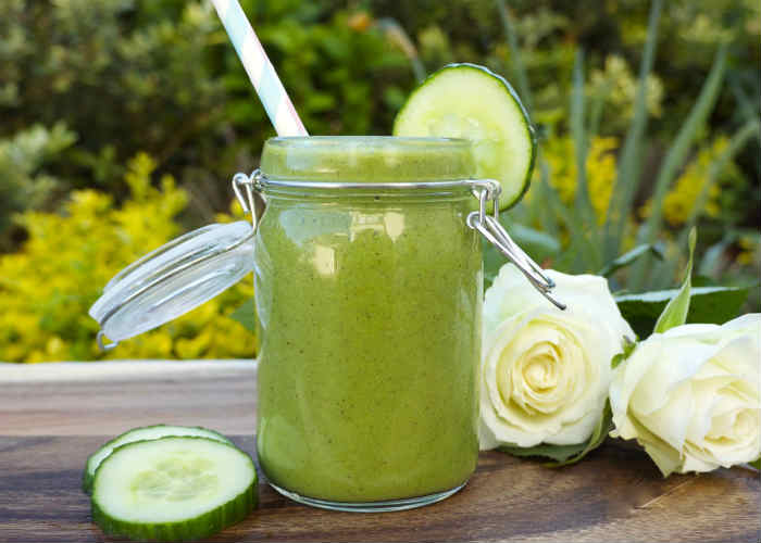 Cucumber and Kiwi Smoothie
