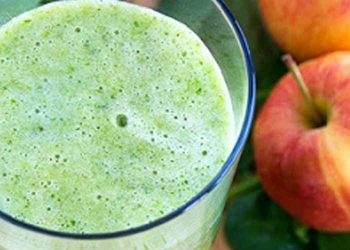 Bell pepper and Apple Smoothie