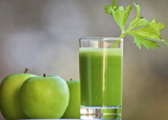 Celery, Cucumber and Apple Smoothie