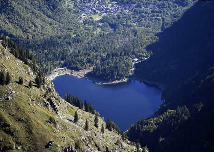Lake Antrona, Italy