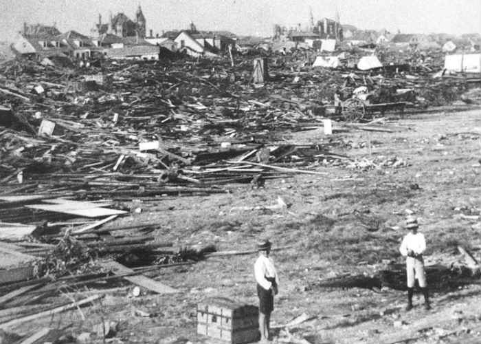 Galveston, 1900