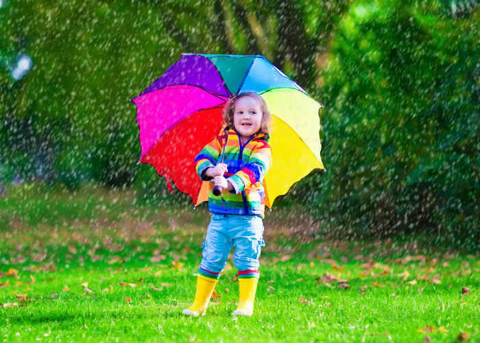 Kids Gear for Monsoon