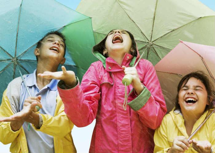 Avoid rainwater