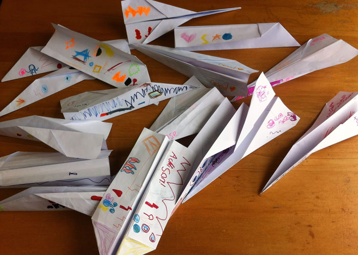Make Paper Planes and Fly