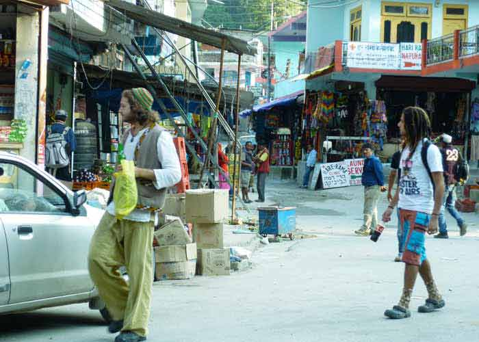 Most Hippie Places To Visit In India - Us map of hippie towns
