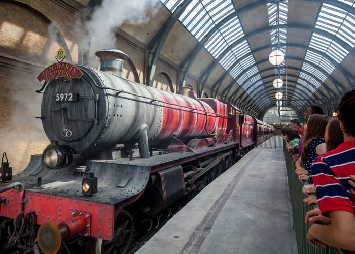 Ride the Hogwarts Express