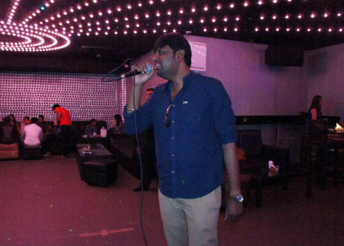 Sing at Karaoke clubs
