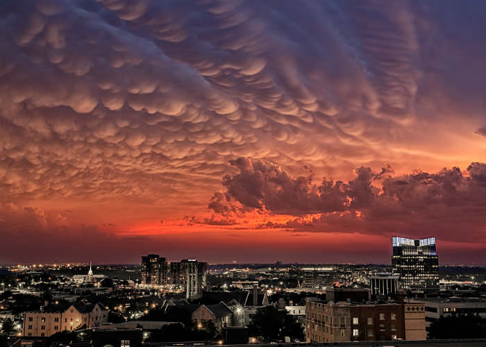 Storm Clouds over Fort Worth, Texas