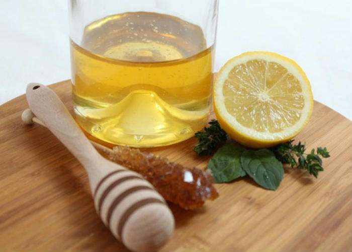 Lemon Honey Water