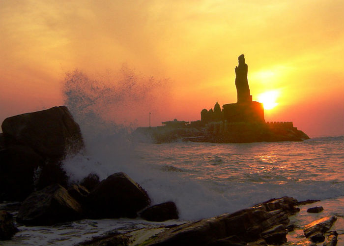 Sunset Point, Kanyakumari