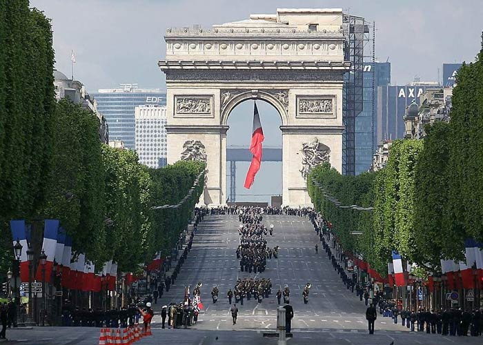 Champs-Elysees, France