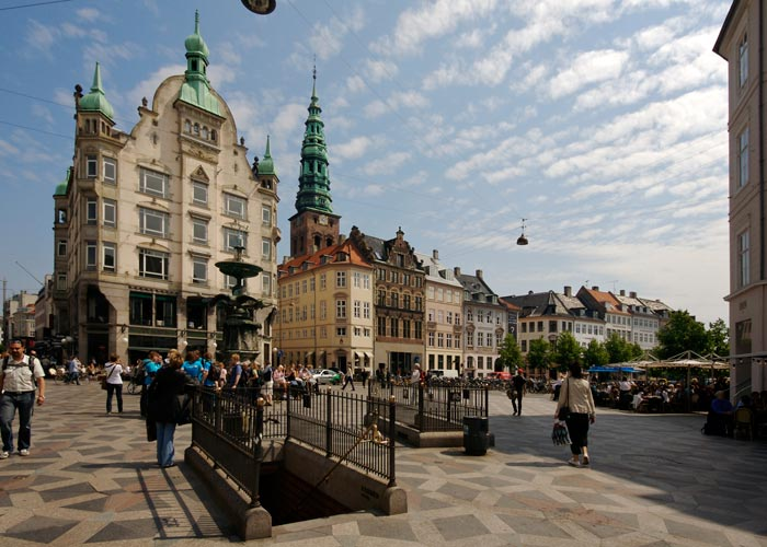 The Stroget, Copenhagen