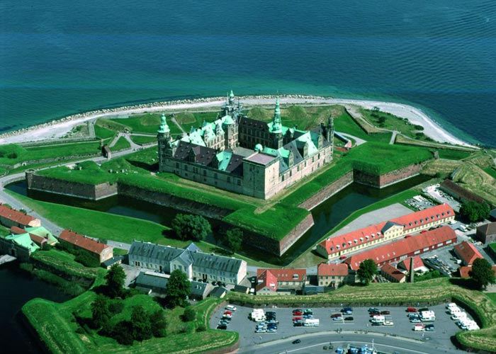 The Kronborg Castle, Zealand