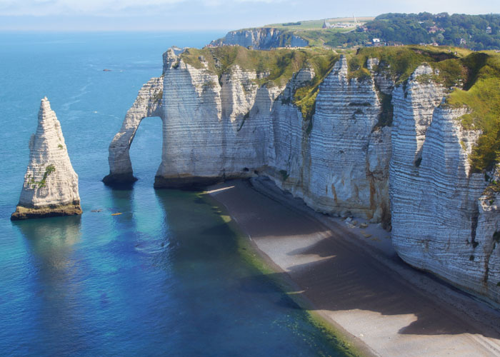 Chalk Cliffs of Etretat, Normandy