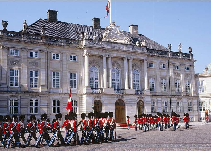 Amelienborg Castle, Copenhagen