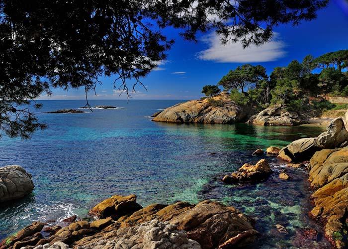 Costa Brava Coastline, Spain