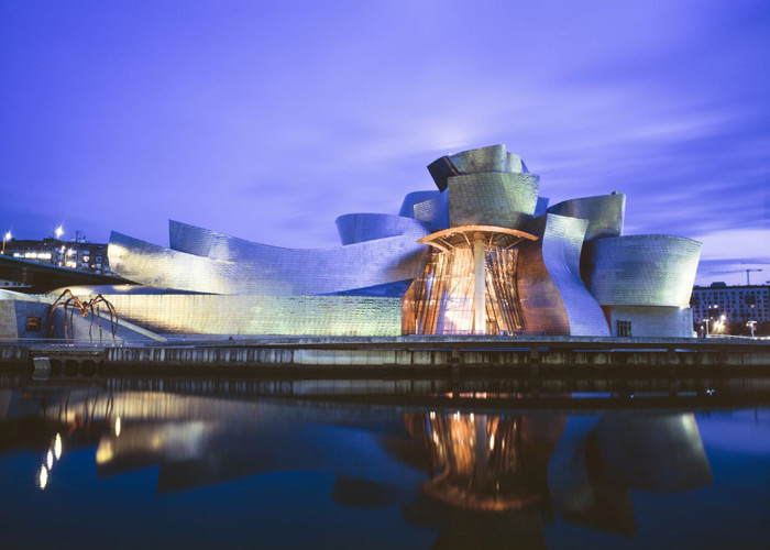 Guggenheim in Bilbao, Spain