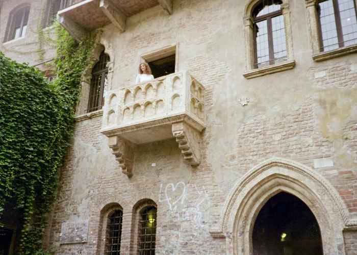 Juliet`s Balcony, Verona