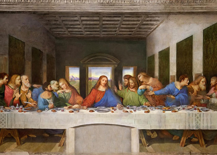 The Last Supper, Italy