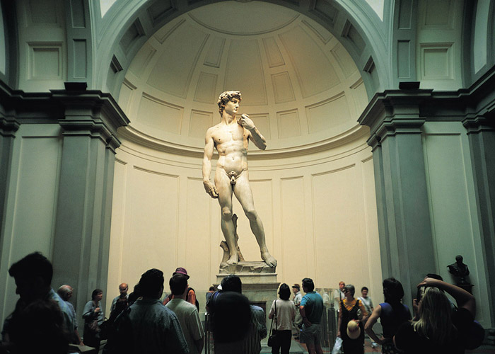 Florence`s Galleria dell`Accademia, Italy