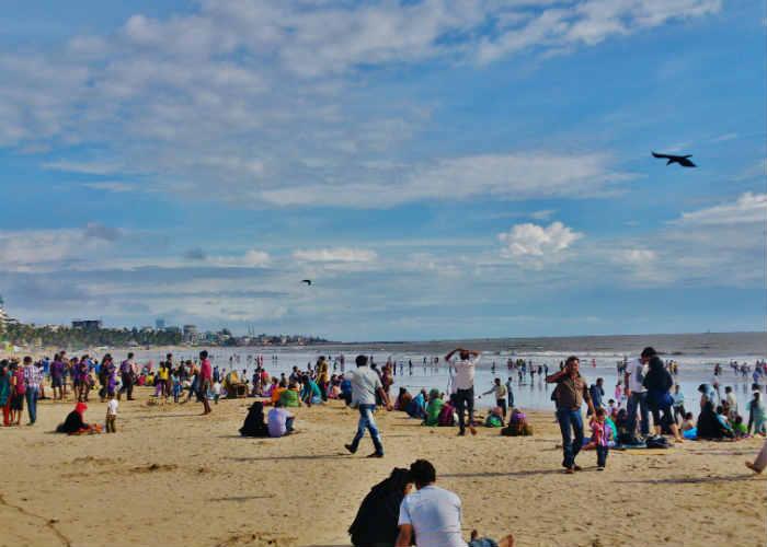 Juhu Chowpatty Beach