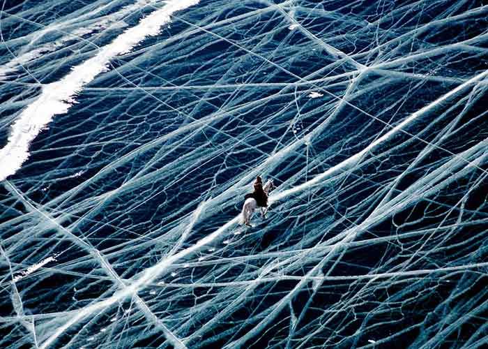 Ice Rider, Siberia, Russia