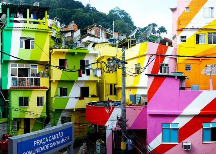 The Favelas of Rio de Janeiro, Brazil
