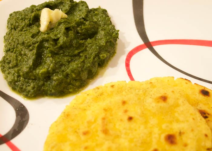 Best foods which define the 29 states of india2 punjab makki di roti with sarson ka saag forumfinder Choice Image