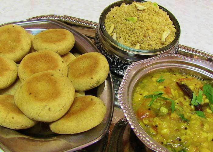 Rajasthan: Daal Baati Choorma