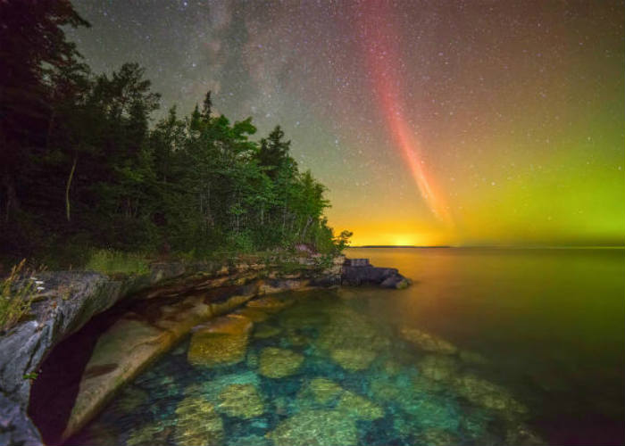 Proton Arc Over Lake Superior