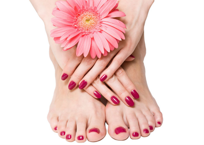 Beauty products for beautiful feet