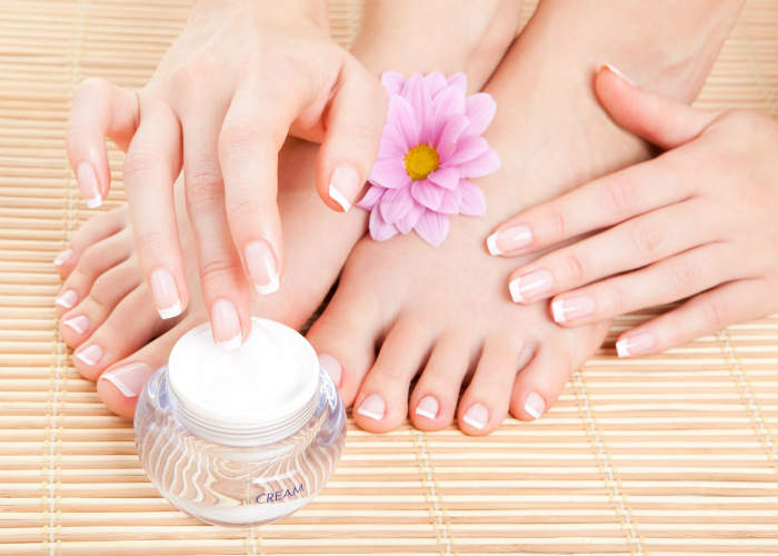 Moisturise your feet regularly