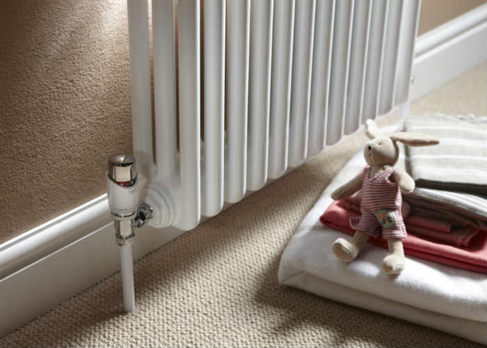 Install thermostatic radiator valves