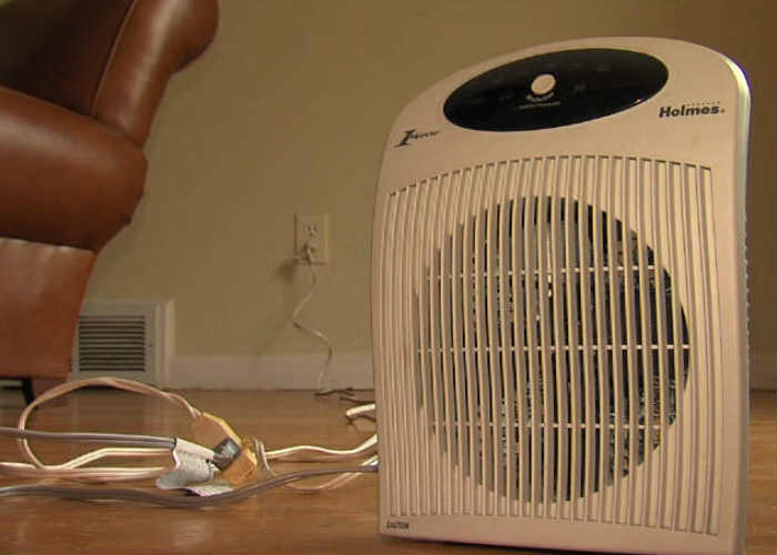 Utilize space heaters, but be alert