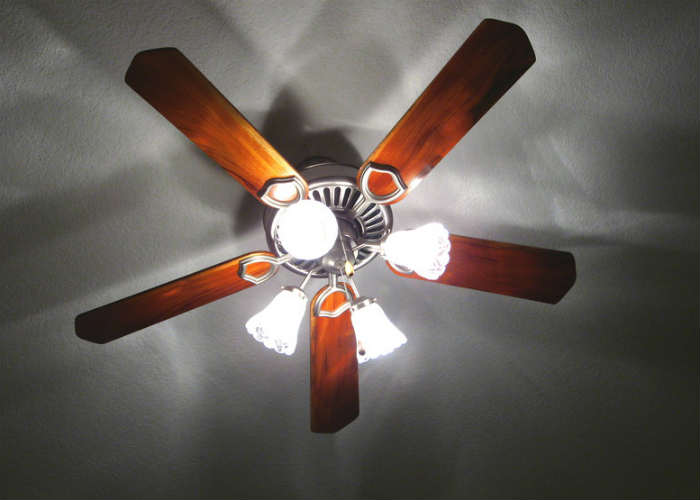 Take a look at your ceiling fans