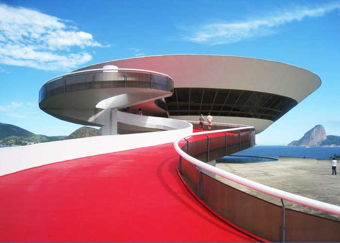 Niteroi Contemporary Art Museum, Brazil