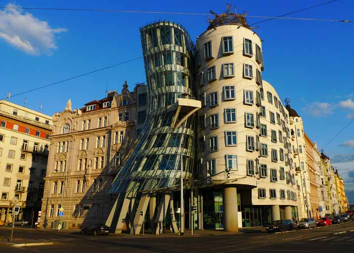 Dancing Building, Czech Republic