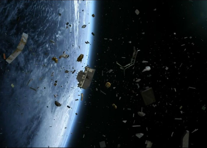 Space Junk Obligated ISS To Move 3 Times In 2014
