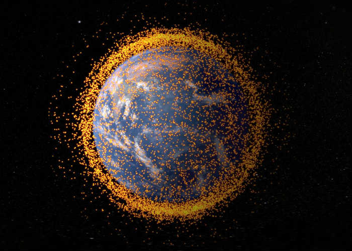 'Agreement' For Getting Space Junk Back To Earth