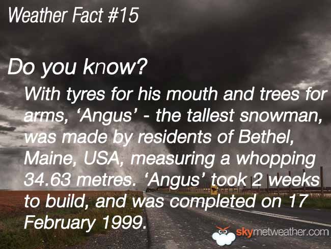 Weather Fact #15