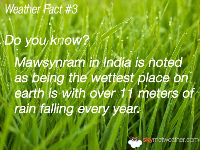 Weather Fact #3